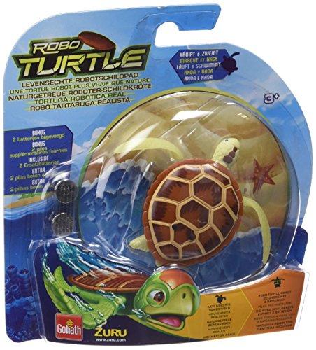 Preisvergleich Produktbild Goliath 32840 Robo-Turtle | Wasserschildkröte | Gigantischer Wasserspaß auch in der Badewanne | Lebensechte Bewegungen auf dem Land und im Wasser | braun