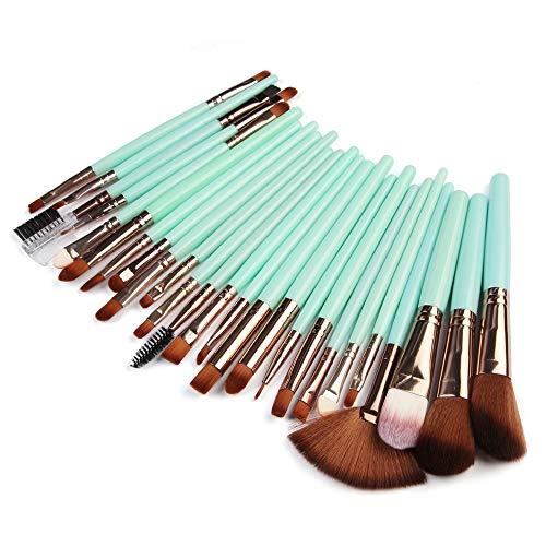 Beauty-Tools,Momoxi 25pcs Cosmetic Makeup Brush Blusher Eye Shadow Brushes Set Kit Holzgriff,...