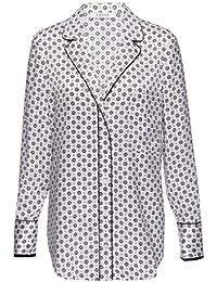 Frame Denim PJ Style Shirt in Charcoal Paisley Print