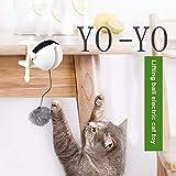 VBVA-S Elektronisches Sport-Katzenspielzeug Katzenspielzeug Hüpfball Spielzeug Yo-Yo Lifting Ball elektrisch zitternd rotierend interaktives Puzzle Katzenball Spielzeug