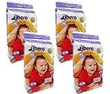 #9: Libero Medium Size Open Diapers - 160 Counts