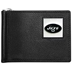 NFL New York Jets Leather Bill Clip Wallet