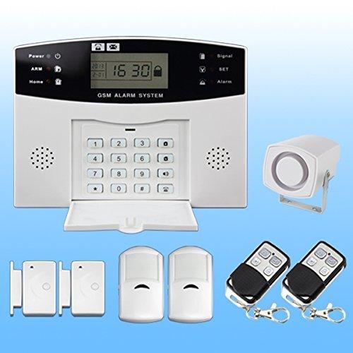 Discoball Sistema de seguridad con alarma y pantalla LCD, inalámbrico