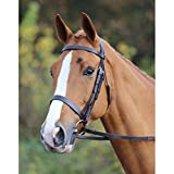 Equestrian Horse Riding Jumping Showing Leather Hunt Rubber Grip Reins Bridle Set In All Colours And Sizes.