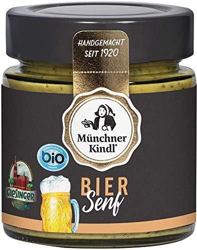 Münchner Kindl Senf Bio Bier Senf (2 x 125 ml) Münchner Bier