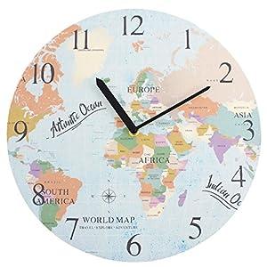 Reloj de mapa
