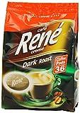 Café Rene Cremé Dark Roast Coffee Pads 252 g (Pack of 2, Total 72 Coffee Pads)