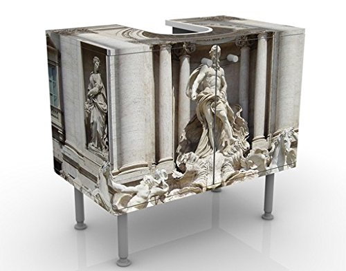 Apalis 53118 Waschbeckenunterschrank Fontana Di Trevi, 60 x 55 x 35 cm