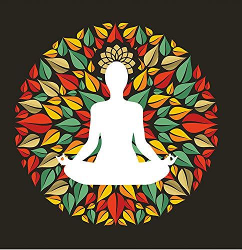 hlen Kunst Malen Nach Zahlen DIY Öl Wugong Praktizieren Yoga, Unsterblichkeit, Langlebigkeit, Geschenkdekoration, Übungsraum ()