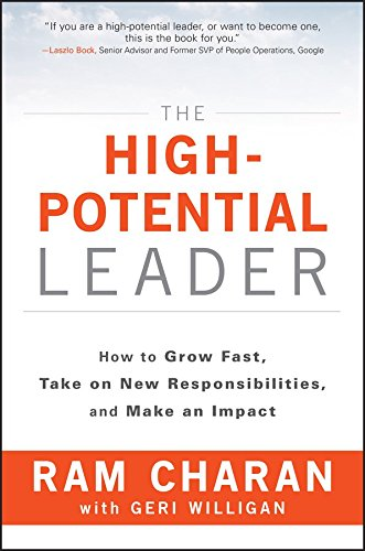 The High-Potential Leader: How to Grow Fast, Take on New Responsibilities and Make an Impact Image