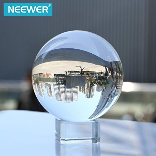 Neewer® 80mm/3Pulgadas Transparente Bola de Cristal Globo Con Libre S