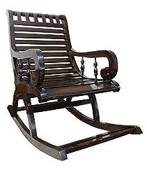 BigSmile Rocking Chair - Walnut Finish