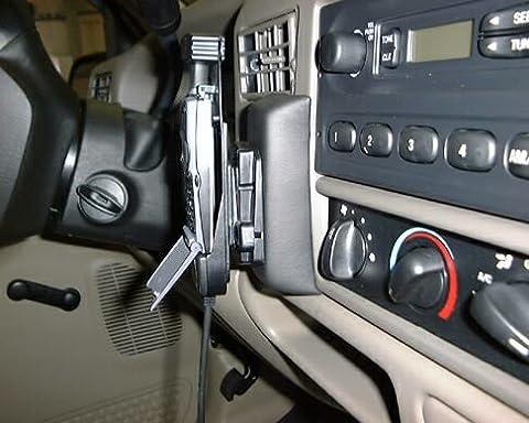 KUDA Telefonkonsole (LHD) für: Ford F250-Super Duty TritonV8 ab 01(USA) / Echtleder schwarz