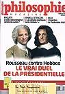 Philosophie Magazine N° 58: Rousseau contre Hobbes Le vrai duel de la présidentielle par Magazine