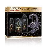 Scorpio 60 Scorpio3-teiliges Set–Noir Absolu–Eau de Toilette (75ml), Duschgel (250ml), Deodorant (150ml)