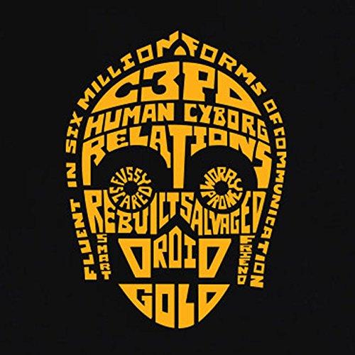 TEXLAB - C3PO Zitate - Herren T-Shirt Flaschengrün