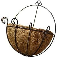 OUNONA venta de maceta de fibra de coco alambre acero