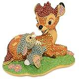 Disney arribas Brothers Bambi und Klopfer Figur Swarovski Kristalle limitierte Auflage von 2000Stück