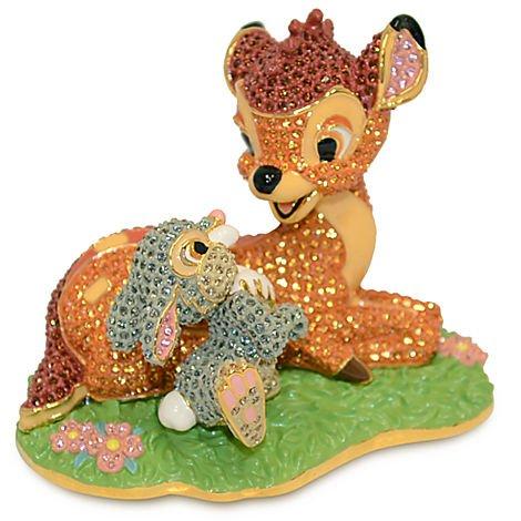 Disney Arribas hermanos Bambi y Thumper figura cristales de Swarovski Edición limitada de 2000piezas