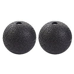 TwinkBling Selbstmassage Bälle Erdnuss Bälle für die Faszien in verschiedenen Größen Massage Ball (2Pcs 8cm)