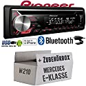 Mercedes E-Klasse W210 - Pioneer DEH-3900BT - Bluetooth   CD   MP3   USB   Android - iPhone Autoradio - Einbauset