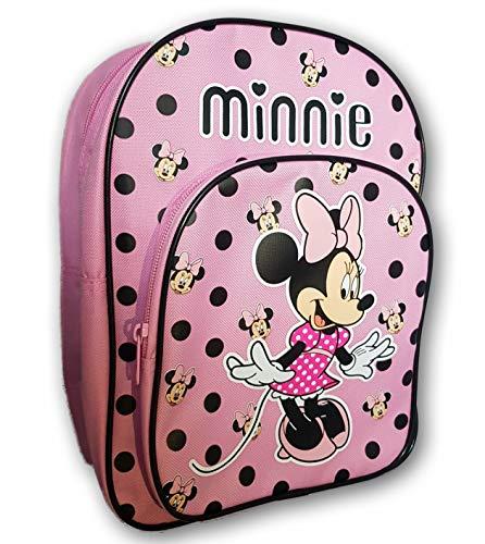 Disney Minnie Mouse Sac à Dos Rose et Noir