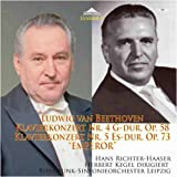 Herbert Kegel dirigiert Beethoven - Klavierkonzert Nr.4 G-Dur, op.58 und Nr.5 Es-Dur, op.73