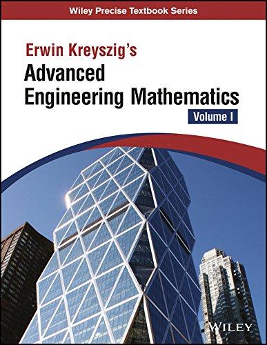 Kreyszig's Advanced Engineering Mathematics - Vol I (As per syllabus of VTU)