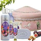 Französisches Beauty Pflege Geschenkbox aus Metall im Vintage Stil Douce – Un Air d'Antan...