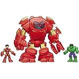 Playskool Heroes Marvel Super Hero Adventures Stark Tech Armor with Tony Stark Figure by Playskool Heroes