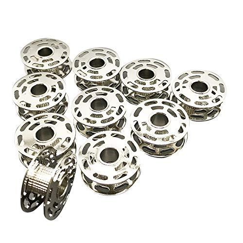 10Stück Spulen Metall # 0060265000Für BERNINA 180185190450200640730E 100010011630von Austin (Bernina Metall Spulen)