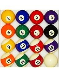 nanook Boules de billard américain - Brillantes - 57,2 mm