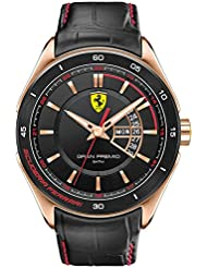 Scuderia Ferrari Gran Premio Mens Day & Date Watch 0830185