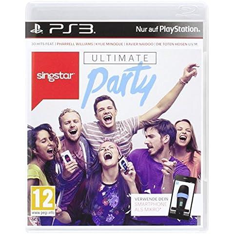 Singstar PS-3 Ultimate Party AT [Importación alemana]