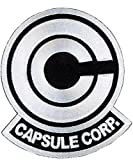 White Dragon Ball Z Capsule Corp. Aufnäher Patch