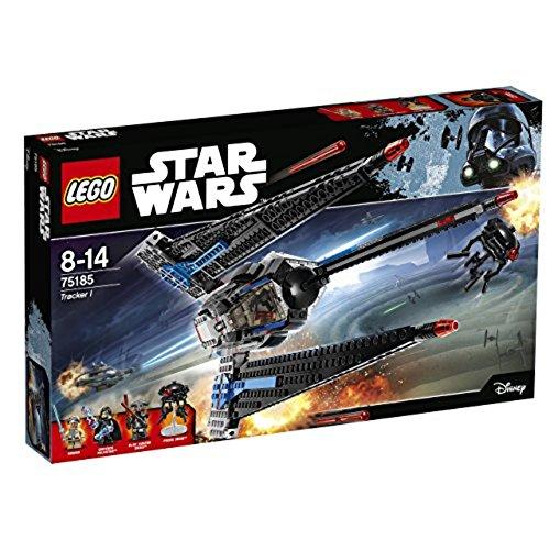 LEGO Star Wars 75185 - Tracker I Raumschiff Spielzeug Lego Star Wars Flugzeuge
