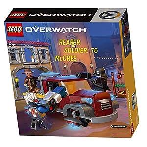 Lego 75972 Overwatch Resa dei Conti a El Dorado Reaper Soldier McCree  LEGO