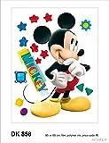 Disney Mickey Mouse Décoration Sticker Adhesif Mural Géant Répositionnable