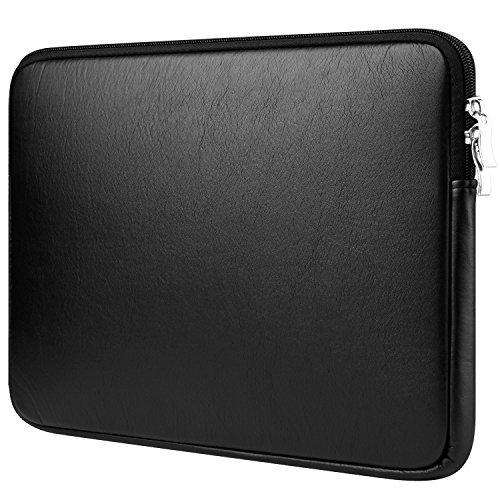 9f804bff2c CCPK 14 – 15 inch Laptop Sleeve para nuevo MacBook Pro de 15,4 pulgadas  2016 2017 Touch Bar a1707 funda piel sintética bolsa compatible con 14