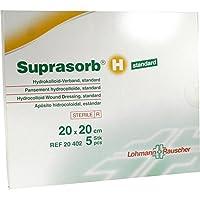 SUPRASORB H Hydrokoll.Verb.standard 20x20 cm 5 St Verband preisvergleich bei billige-tabletten.eu