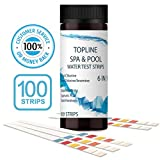 Hot Tub Test Strips 6 In 1 - 100 Strips. PH Testing Strips