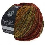 ALTA MODA SUPERBABY Color 302 - Dunkelrot / Senf / Ziegelrot / Braun