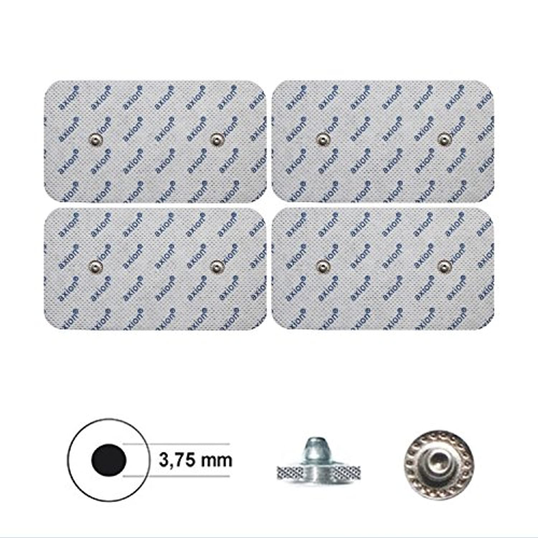 Stimpads Electrodes pour Compex* Pack de 4 électrodes 50x100mm Pression Double