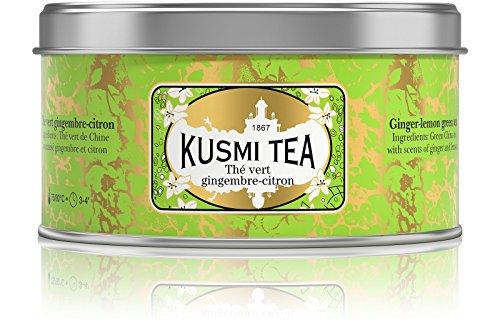 Grüner Tee mit Ingwer-Zitrone-Geschmack