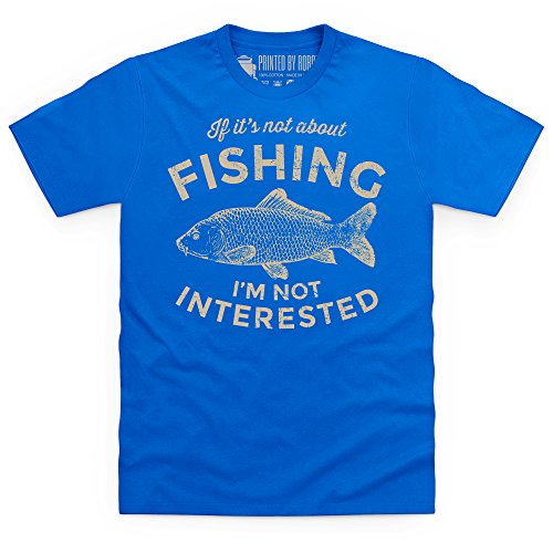 If It's Not About Fishing T-Shirt, Herren Royalblau