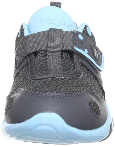 Glagla Classic 141037 Unisex-Erwachsene Sneaker Grau (charcoal/turquoise)