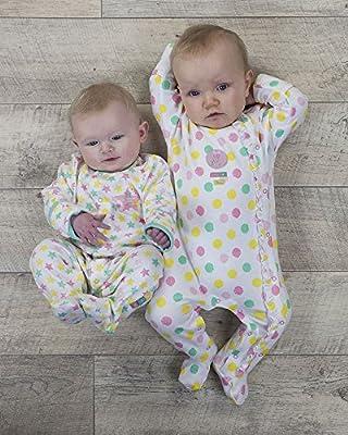 The Essential One - Pijama Pijamas para bebé niñas - Paquete de 2 - ESS162