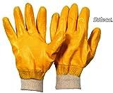 12 x Nitril Handschuh vollbeschichtet Größe 10