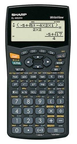 Sharp EL-W531H wissenschaftlicher Schulrechner, WriteView-Anzeige, SEK I&II, Batterie, Baugleich mit EL-W531B