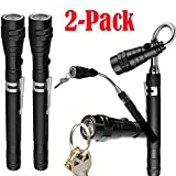 Oyedens LED Taschenlampe 2000 Extrem Extendable Telescoping Magnetic w/Flex-Head LED Flashlight ( 2pcs )